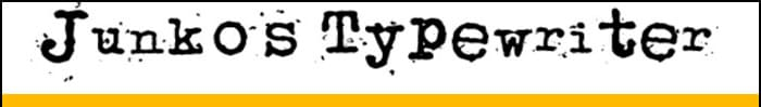 Junko's Typewriter font