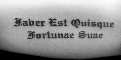 Las Mejores Letras Góticas para Tatuajes