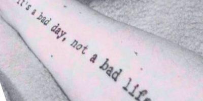Letras de Máquina de Escribir para Tatuajes