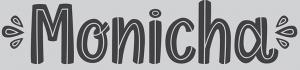 Monicha font