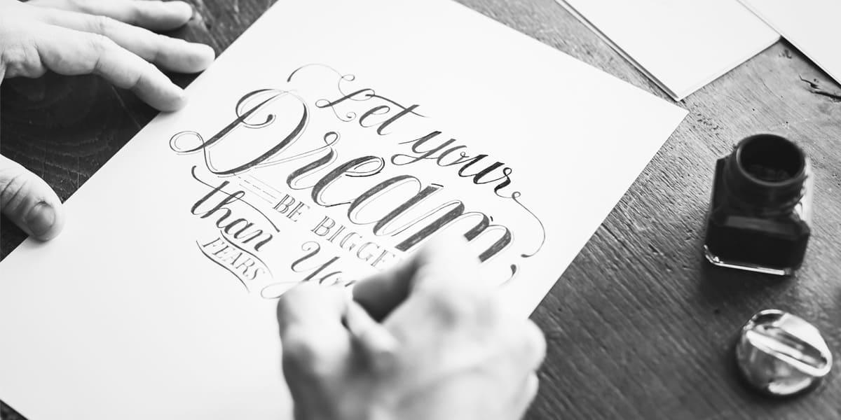 estilos de caligrafia